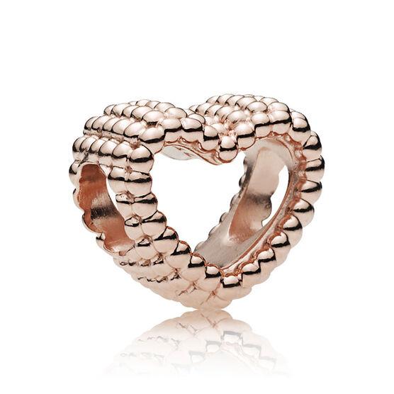 Pandora Beaded Heart Charm