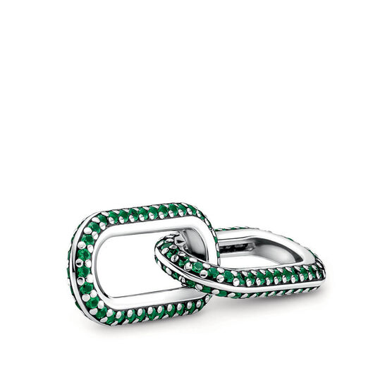 Pandora ME Styling Green Pavé Crystal Double Link
