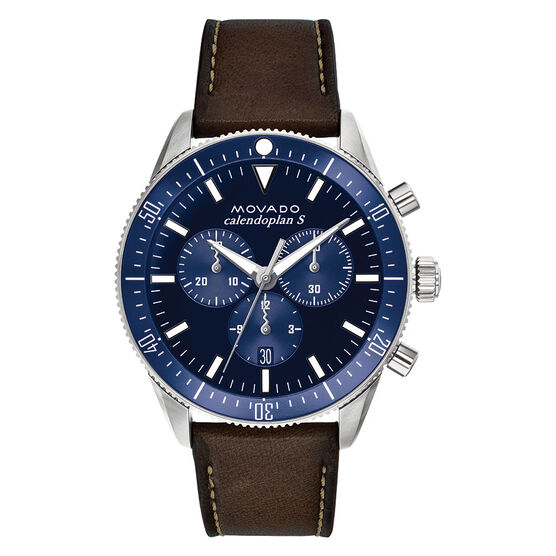 Movado Heritage Calendoplan Chronograph Watch