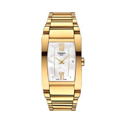 Tissot Generosi-T Yellow PVD Watch