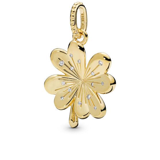 Pandora Shine™ Lucky Four Leaf Clover CZ Pendant