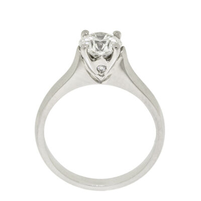 Ben Bridge Signature Diamond™ Ring in Platinum, 1 ct.