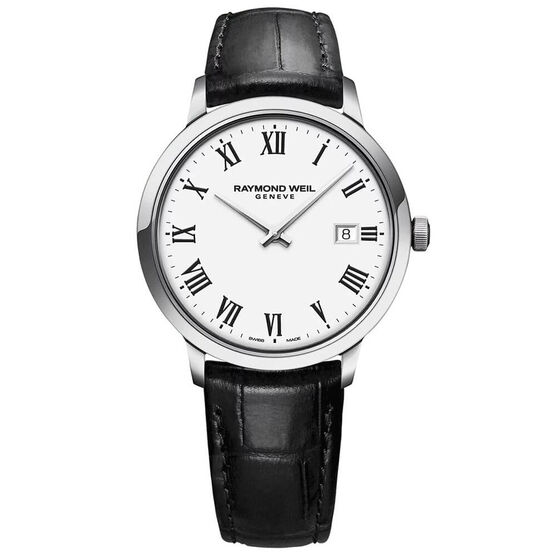 Raymond Weil Toccatta Classic White Dial Date Watch, 39mm