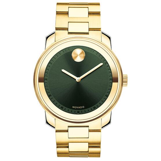 Movado Bold Green Dial Watch