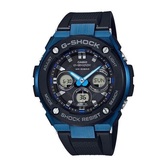 G-Shock G-Steel Blue-Detailed Solar Analog Watch