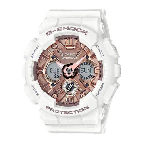 G-Shock S-Series Pink & White Analog Digital Watch