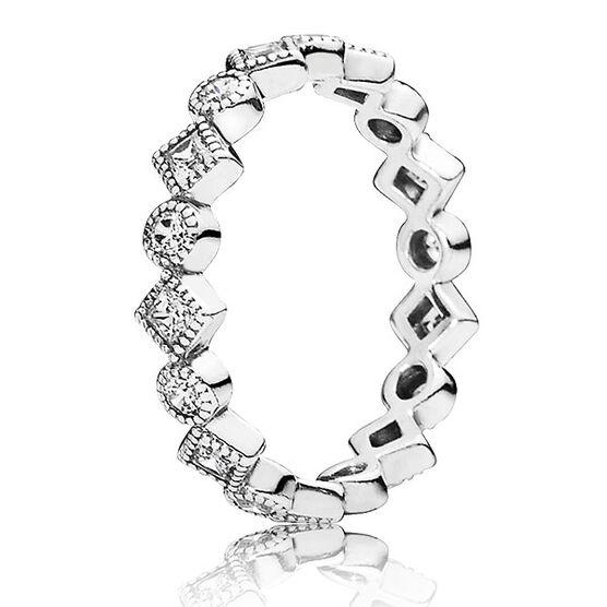 PANDORA Alluring Brilliant Princess Ring