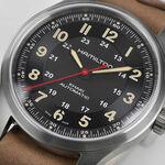 Hamilton Khaki Field Far Cry® 6 Titanium Leather Watch, 42mm