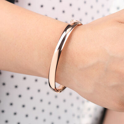 Rose Gold Toscano Bangle Bracelet