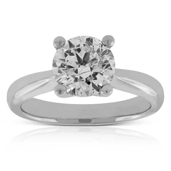Diamond Solitaire Ring 14K, 2 ct.