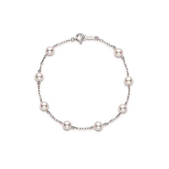 Mikimoto Akoya Cultured Pearl Bracelet, 5mm, A+, 18K