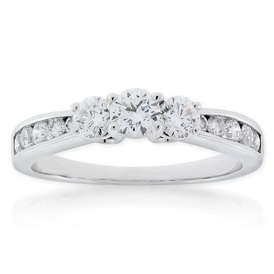 Ikuma Canadian Diamond 3-Stone Ring 14K