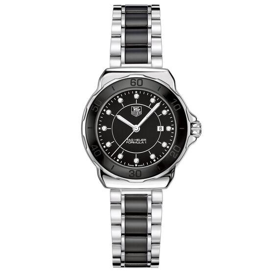 TAG Heuer Formula 1 Quartz Black Ceramic Diamond Watch