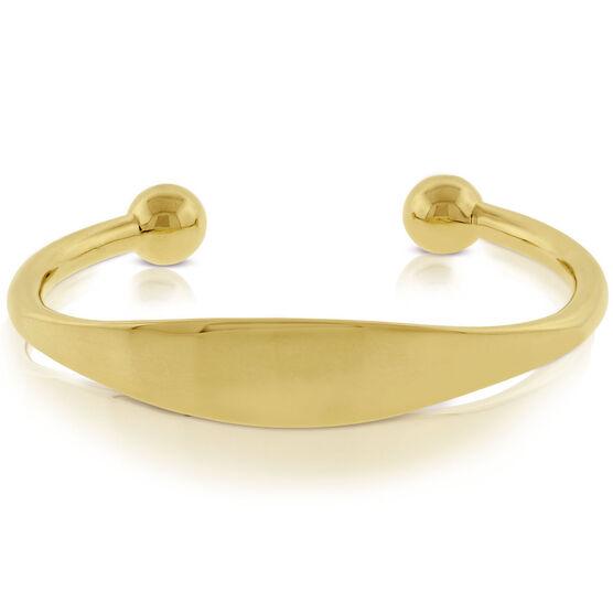 Men's Cuff Bracelet 14K