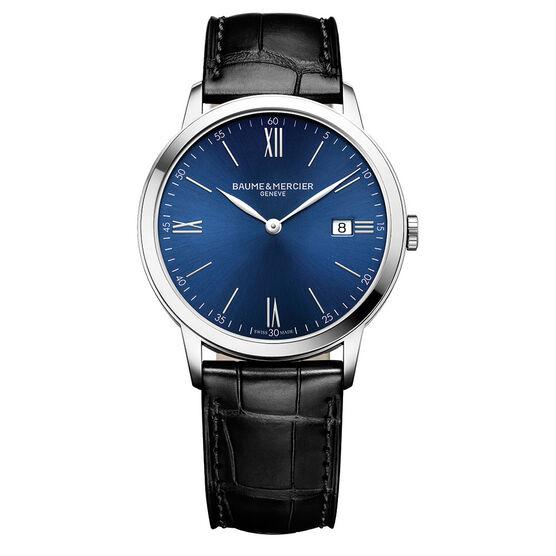 Baume & Mercier CLASSIMA 10324 Blue Dial Watch