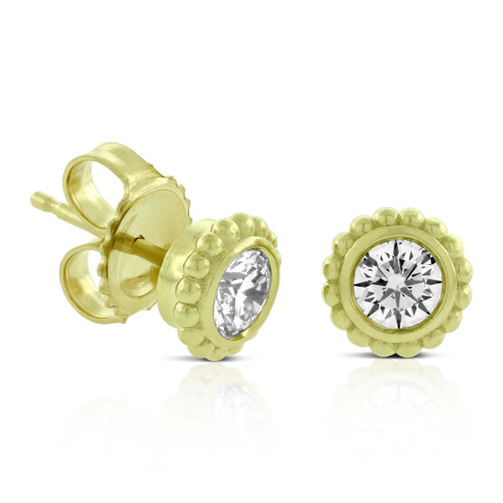 Forevermark Diamond Stud Earrings 18K