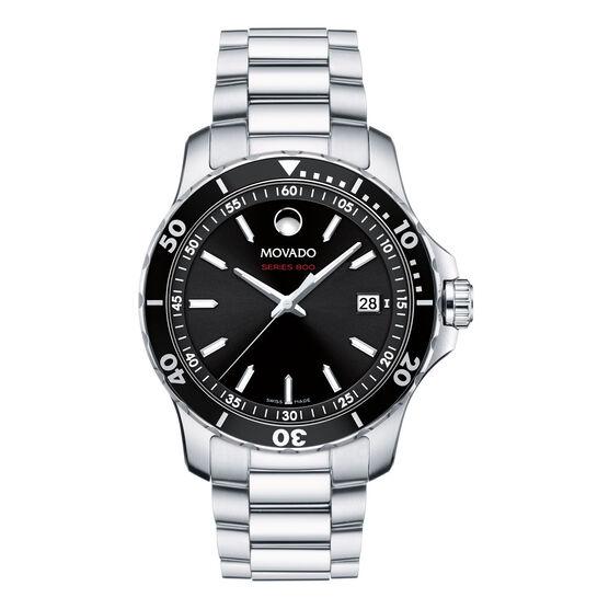 Movado Series 800 Black Dial Watch