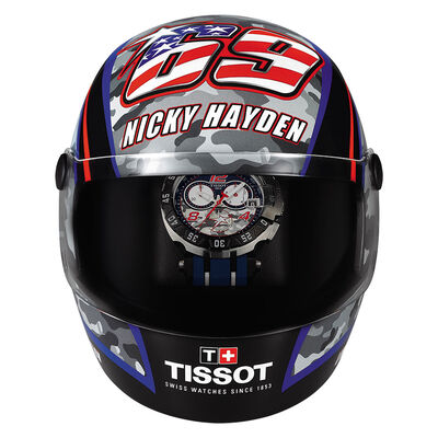 Tissot Limited Edition Nicky Hayden Chrono T-Race T-Sport Quartz Watch
