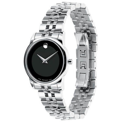 Movado 1881 Automatic Black Dial Date Watch, 40mm