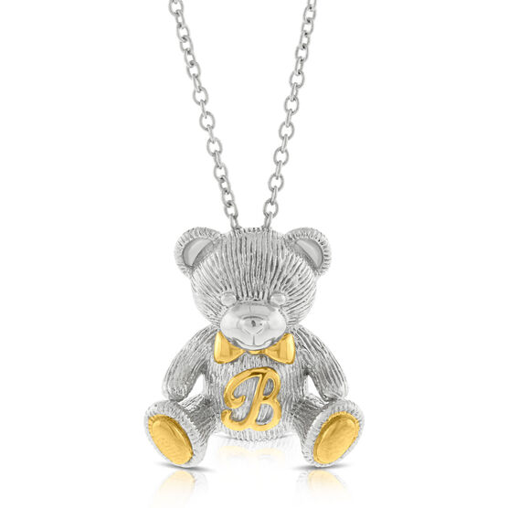 2016 Benny Bear Pendant in Sterling Silver