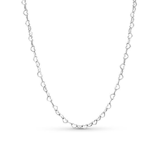 Pandora Joined Hearts Adjustable Length Necklace