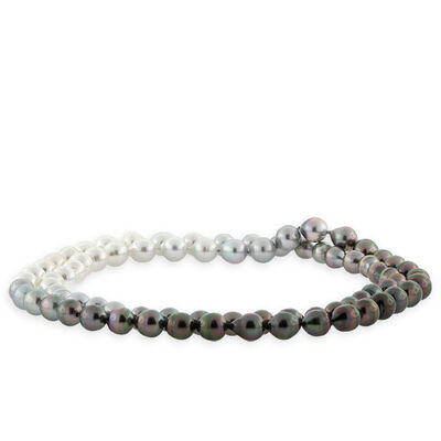 """Ombre Cultured South Sea & Tahitian Pearl Strand, 36"""""""