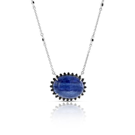 Lisa Bridge Kyanite & Sapphire Necklace