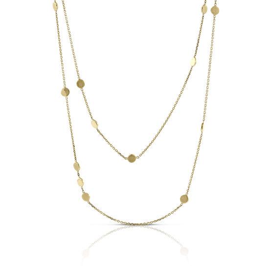 Toscano Alternating Beads Necklace 14K