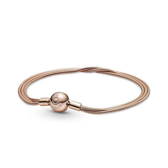 Pandora Rose™ Moments Multi Snake Chain Bracelet