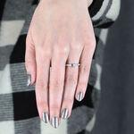 Forevermark Black Label Diamond Engagement Ring 18K