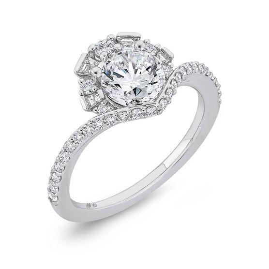 Bella Ponte Diamond Engagement Ring Setting 14K