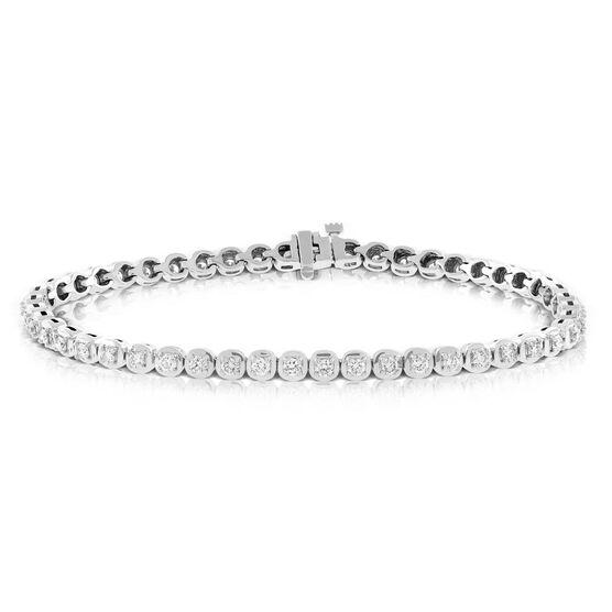 Diamond Bracelet 14K, 2 ctw.