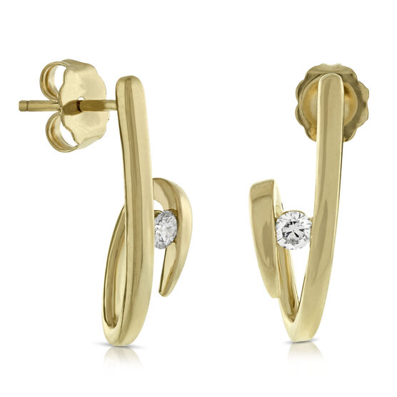 Ikuma Canadian Diamond Earrings 14K
