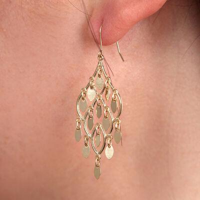 Chandelier Earring 14K