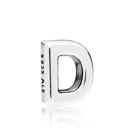 PANDORA Petite Locket Charm, Letter D