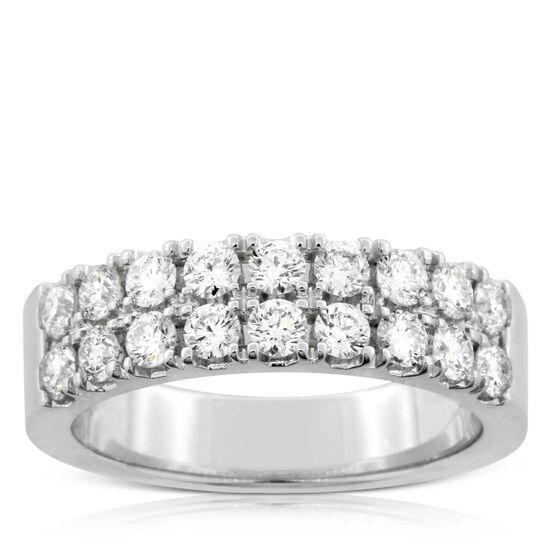Two Row Diamond Ring 14K