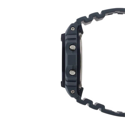 G-Shock Gray & Black Rectangular Watch, 48.9mm