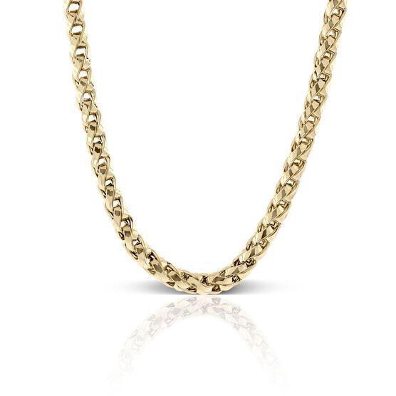 Toscano Spiga Chain Necklace 14K