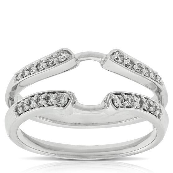 Diamond Ring Guard 14K, 1/4 ctw.
