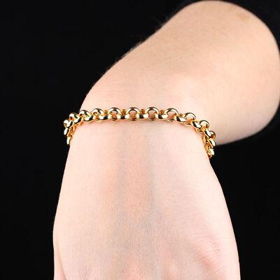 Toscano Rolo Chain Bracelet 14K