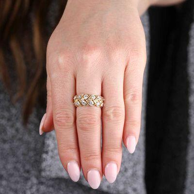 Signature Forevermark Diamond Wedding / Anniversary  Band 18K