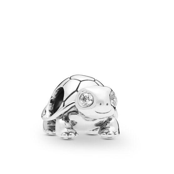 Pandora Bright-Eyed Turtle CZ Charm