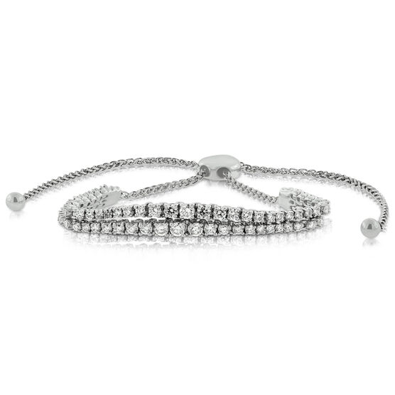 Bolo Diamond Bracelet 14K, 2 ctw.
