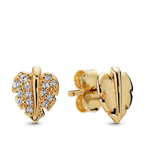 Pandora Shine™ Pandora Wonderland Shining & Sparkling Leaf CZ Stud Earrings
