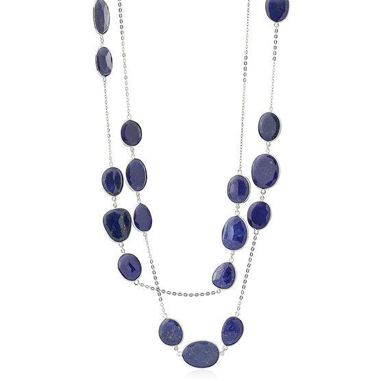 Lisa Bridge Lapis Lazuli Station Necklace