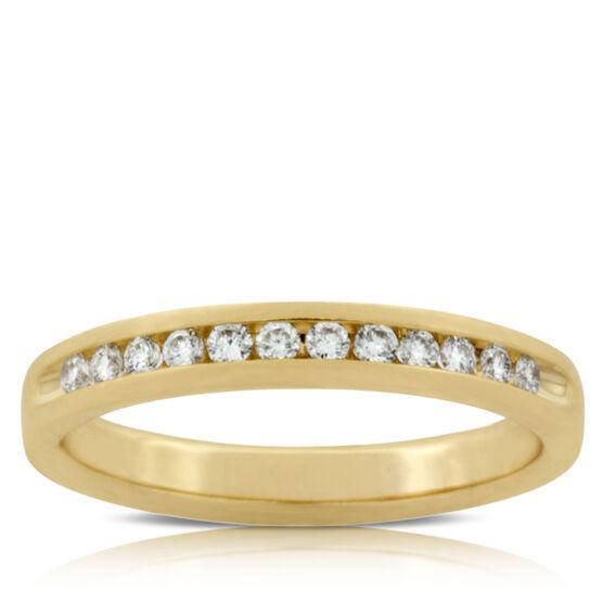 Diamond Ring 14K, 1/5 ctw.
