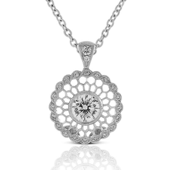 Signature Forevermark Diamond Mandala Necklace 18K, 1/2 ct.