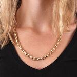 "Toscano Stampato Chain Necklace 14K, 24"""