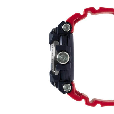 G-Shock Master of G Frogman Solar Bluetooth Red Strap Watch, 56.7mm