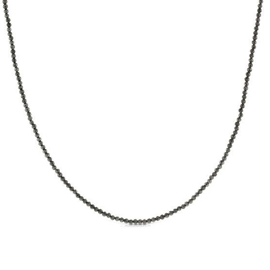 Lisa Bridge Pyrite Bead Necklace